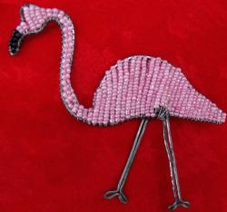 <pre>Flamingo Ornament</pre>