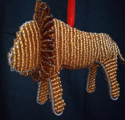 <pre>Lion Ornament</pre>
